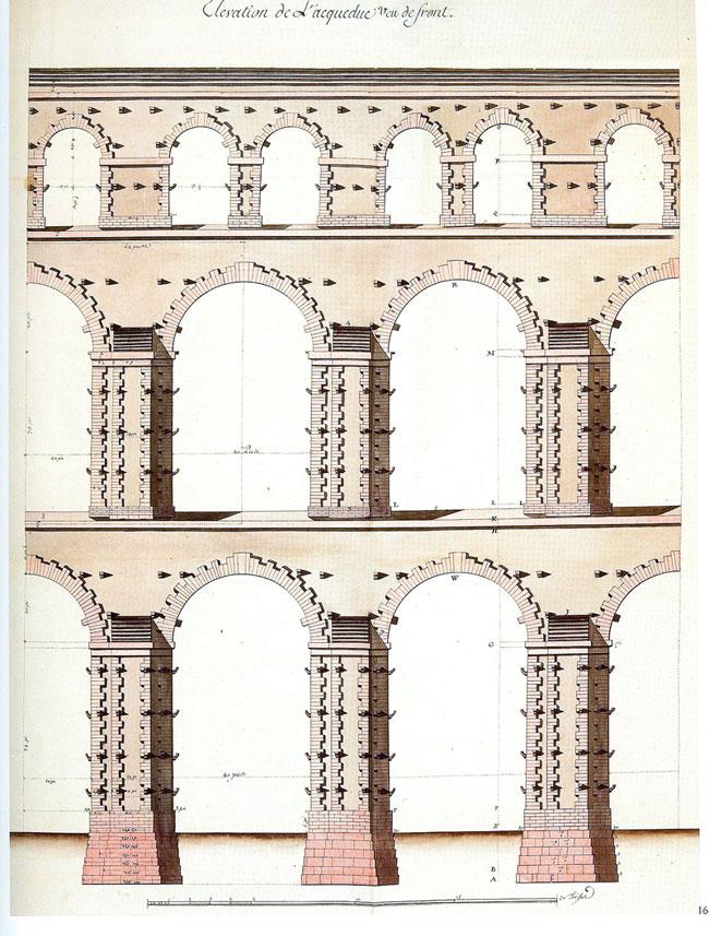 Aqueduc_de_Maintenon, projet de Vauban