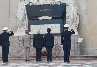 COMMÉMORATION EN L'HONNEUR DU  MARÉCHAL VAUBAN